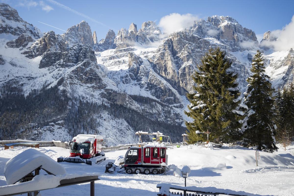 Molveno in inverno Paganella Dolomiti